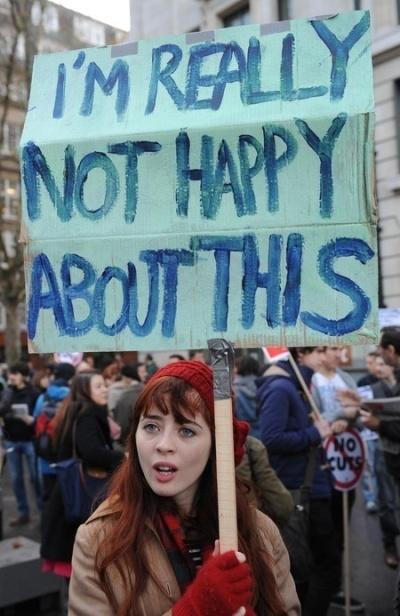 unhappyprotester