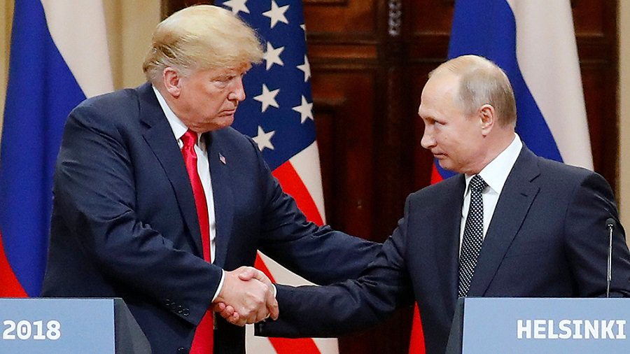 Remember when words had meaning? Trump and Russian election interference.